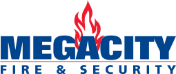 Megacity Fire & Security logo